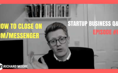 The Simple Way to Close Cold People with DM – Startup Business Q&A: Episode #84