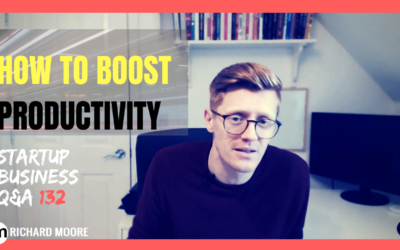 How to Boost Productivity: Startup Q&A week #132