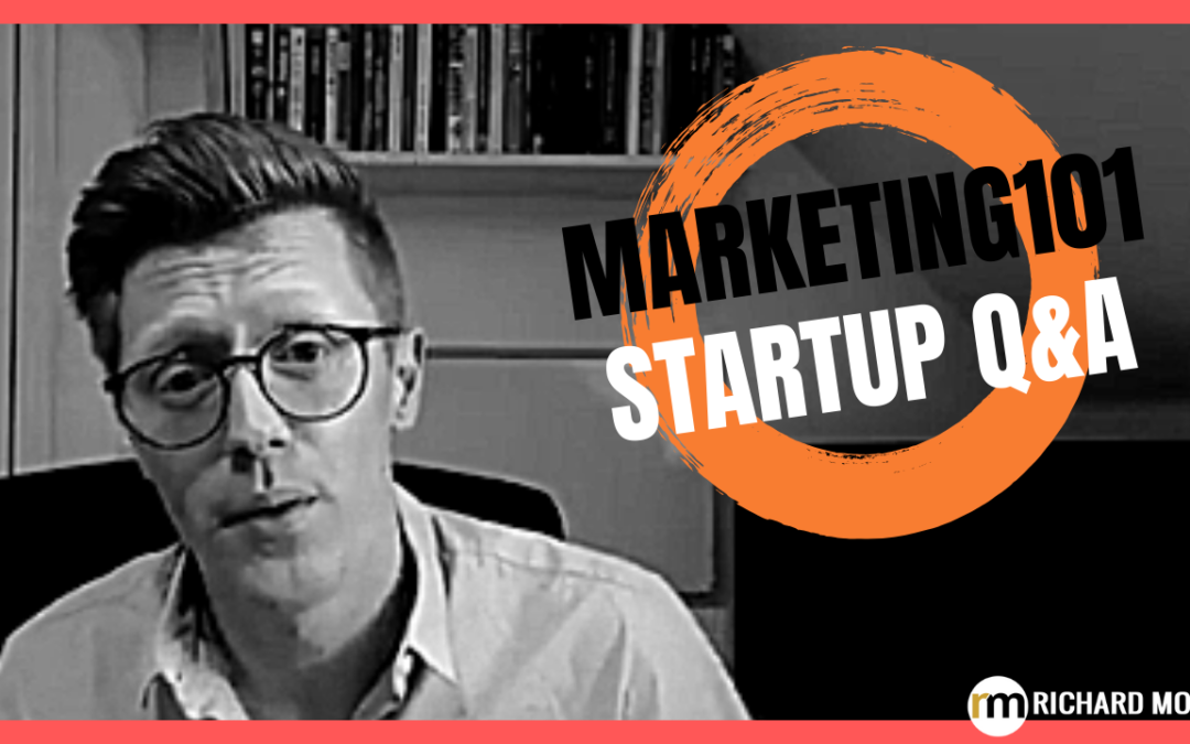 Marketing101: Startup Q&A LIVE – Week #139