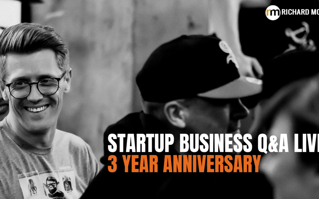 It's our THREE YEAR Anniversary! Startup Business Q&A #156