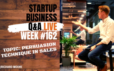 Persuasion in Sales: Startup Q&A week #162