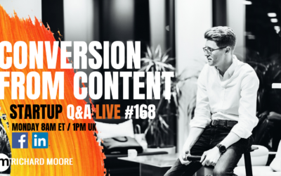 Conversion From Content: Startup Q&A Week #168