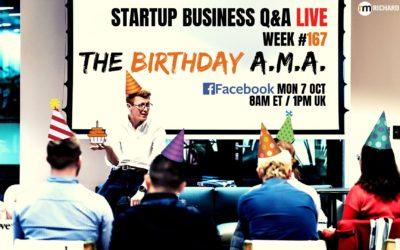 Giveaways! The Birthday AMA: Startup Q&A #167