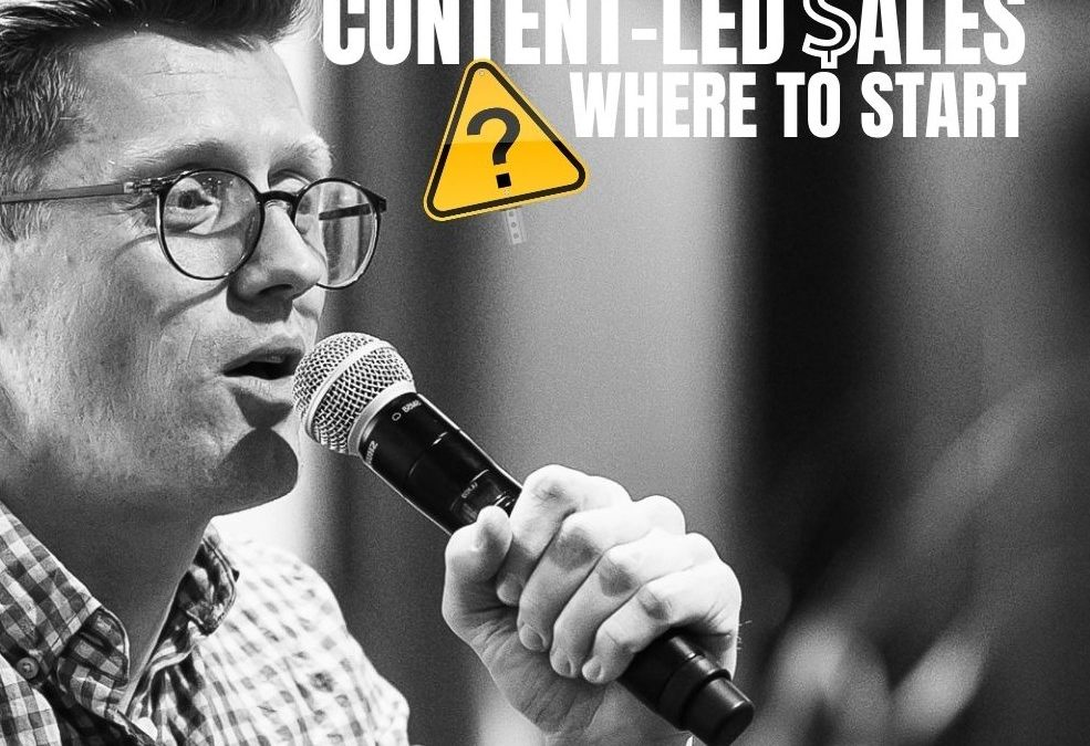 Answering Your Questions on Content-Led Sales: Startup Q&A LIVE – Week #240